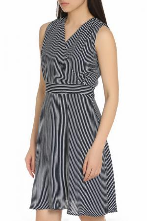Платье YUMI. Цвет: navy, white