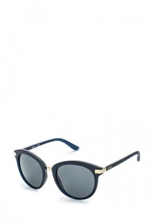 Очки солнцезащитные DKNY. Цвет: черный