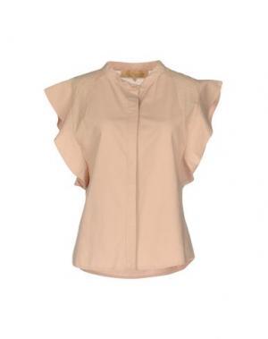 Pубашка BONSUI. Цвет: розовый