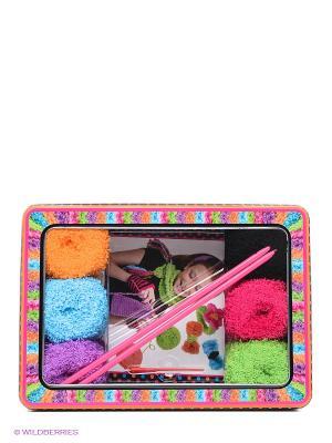 Набор для вязания спицами Alex. Цвет: розовый