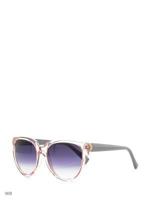 Очки солнцезащитные Vittorio Richi. Цвет: розовый, серый
