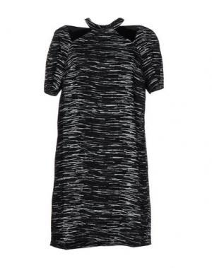 Короткое платье TY-LR. Цвет: черный
