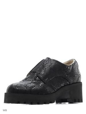 Ботинки ESTELLA. Цвет: черный, темно-серый