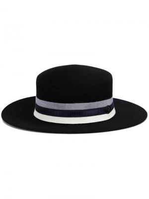 Шляпа Kiki Maison Michel. Цвет: чёрный