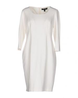 Короткое платье CHIARA D'ESTE. Цвет: белый