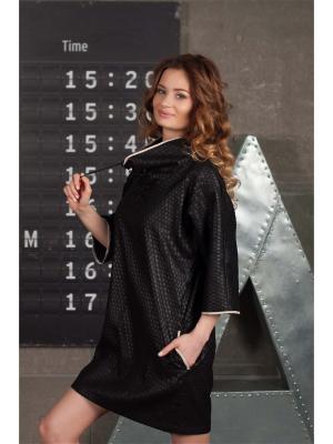 Платье Casual street Вестетика 61007/ЧЕРНЫЙ