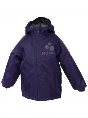 Куртка HUPPA. Цвет: темно-фиолетовый
