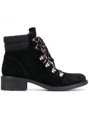 Ботинки на шнуровке Sam Edelman. Цвет: чёрный