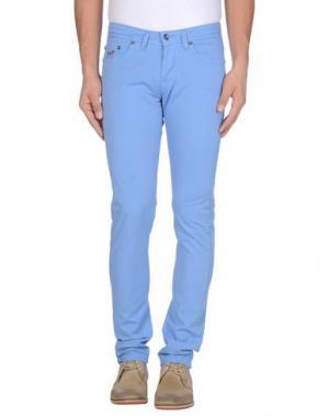 Повседневные брюки KEVIN UP. Цвет: небесно-голубой