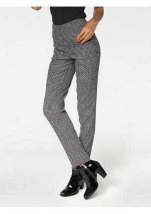 Моделирующие брюки Ashley Brooke. Цвет: черный/белый