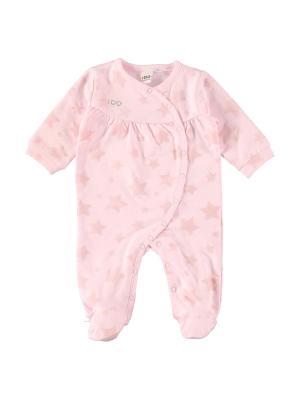 Комбинезон нательный для малыша IDO. Цвет: розовый