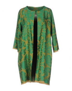 Легкое пальто DANIELA PANCHERI. Цвет: зеленый