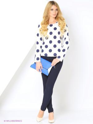 Блузка КАЛIНКА. Цвет: молочный