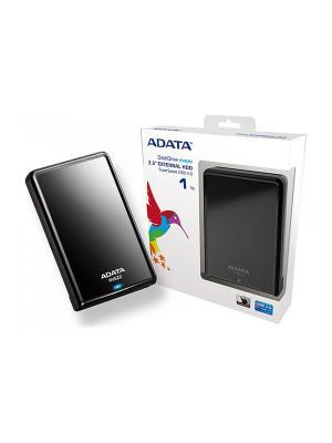 Жесткий диск A-Data USB 3.0 1Tb HV620 DashDrive 2.5 черный. Цвет: черный