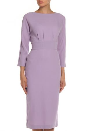Платье-футляр, миди NATALIA PICARIELLO. Цвет: розовый