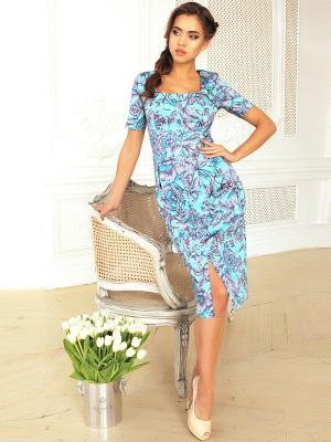 Платье Fashion.Love.Story.. Цвет: голубой
