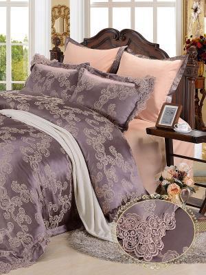 Комплект постельного белья, Donna Mattina, Семейный KAZANOV.A.. Цвет: лиловый