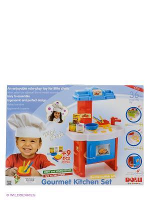 Кухня DOLU. Цвет: голубой