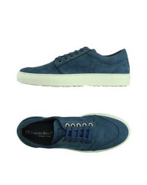 Низкие кеды и кроссовки FABIANO RICCI. Цвет: темно-синий