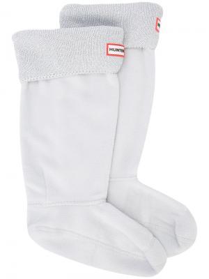 Теплые носки Hunter. Цвет: серый