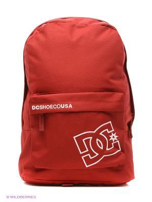 Рюкзак DC Shoes. Цвет: темно-красный