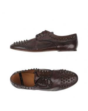Обувь на шнурках ROLANDO STURLINI. Цвет: какао