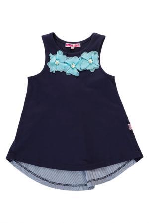 Платье Bodi Bear. Цвет: синий