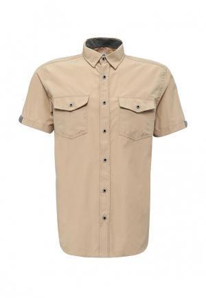 Рубашка Modis. Цвет: бежевый