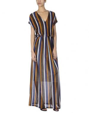 Длинное платье SOHO DE LUXE. Цвет: ржаво-коричневый