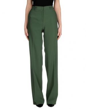 Повседневные брюки ANNARITA N.. Цвет: зеленый