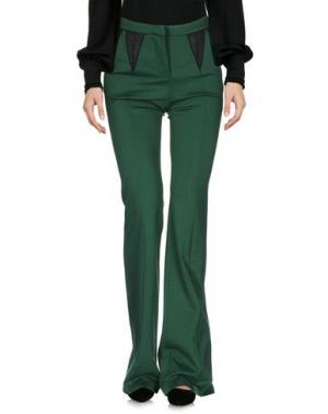 Повседневные брюки LE RAGAZZE DI ST. BARTH. Цвет: зеленый