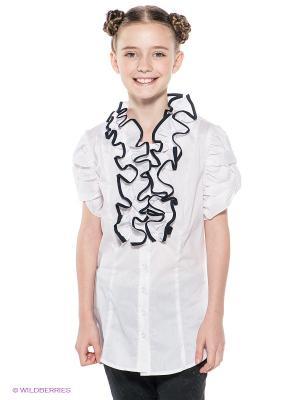 Блузка Sabotage. Цвет: белый, черный
