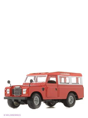 1:24 BB Машина Land Rover металл. Bburago. Цвет: красный