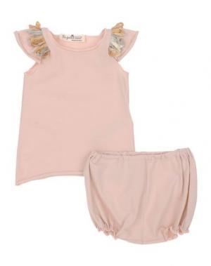 Комплекты LE PETIT COCO. Цвет: светло-розовый