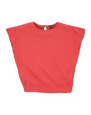 Блузка MANILA GRACE. Цвет: красный