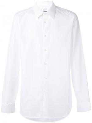 Slim-fit shirt Xacus. Цвет: белый