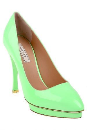 Туфли Nina Ricci. Цвет: зеленый