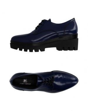 Обувь на шнурках JANET SPORT. Цвет: синий