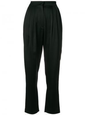 Плиссированные брюки с завышенной талией Philosophy Di Lorenzo Serafini. Цвет: чёрный