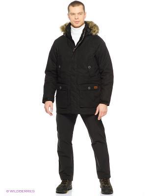 Куртка MILLERTOWN F65 PAR M Jack Wolfskin. Цвет: черный