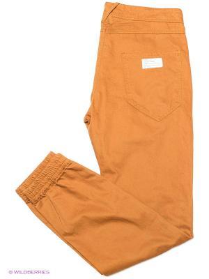 Брюки Cropp. Цвет: оранжевый