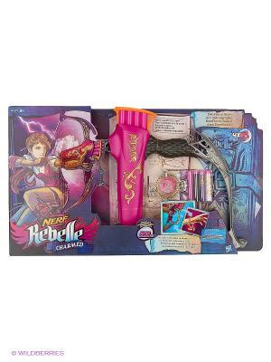 Зачарованный Лук Hasbro. Цвет: розовый