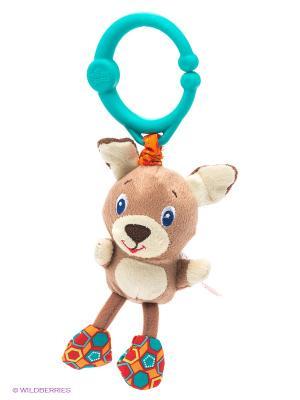 Развивающая игрушка Дрожащий дружок BRIGHT STARTS. Цвет: коричневый
