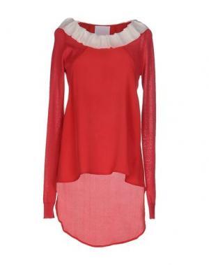 Блузка PRINCESSE METROPOLITAINE. Цвет: красный