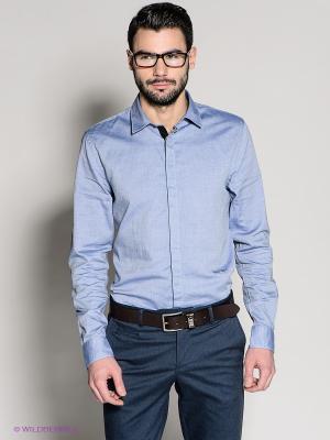 Рубашка 18CRR81 CERRUTI. Цвет: голубой