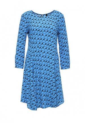 Платье Bestia. Цвет: голубой