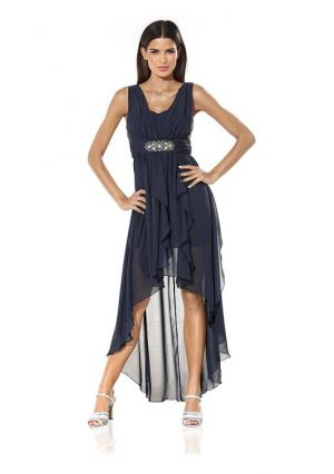 Платье ASHLEY BROOKE by Heine. Цвет: белый, розовый, темно-синий, черный