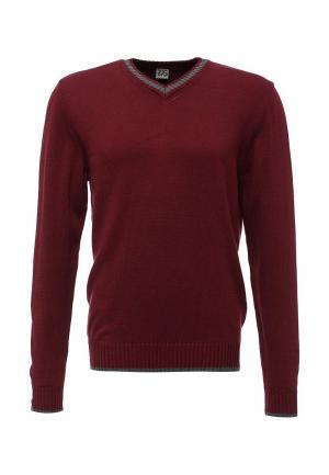 Пуловер RPS. Цвет: бордовый
