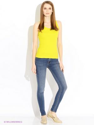 Топ Baon. Цвет: желтый