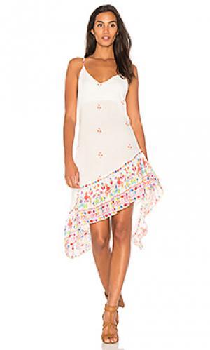 Платье-комбинация guadalajara Jens Pirate Booty Jen's. Цвет: белый
